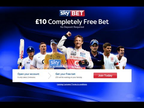 SkyBet Review And Get The SkyBet £10 No Deposit Free Bet