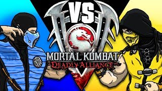 Scorpion & Sub-Zero Play - Mortal Kombat DEADLY ALLIANCE! | MKX PARODY!