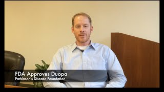 Dr. James Beck Discusses FDA Approval of DUOPA for Treatment of Advanced Parkinson's