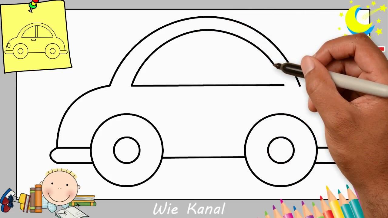Auto Zeichnen Lernen Einfach Schritt Fur Schritt Fur Anfanger