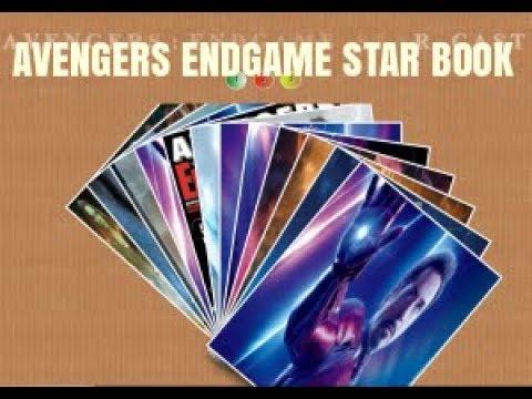Avengers Endgame Star Book in HTML, CSS, Gradient & jQuery thumbnail