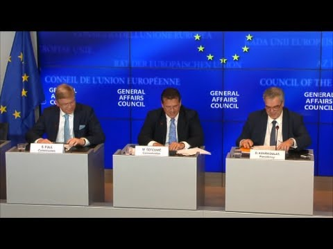 Meeting of the General Affairs Council (GAC), Luxembourg 24.06.2014 - Press Conference