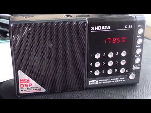 Radio Exterior Espana Spanish on XHDATA D38 Shortwave receiver 17850 Khz
