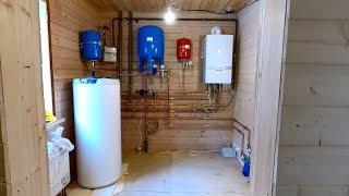 Котельная частного дома,обвязка медью,водоснабжение,принцип работы