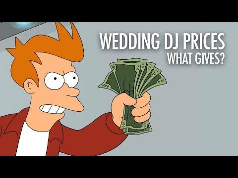 Wedding DJ Pricing. What Gives?