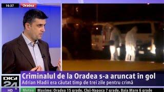 Jurnalul Digi24 Oradea 20 Martie 2017 - Despre Crima Comisă De Adrian Hladii