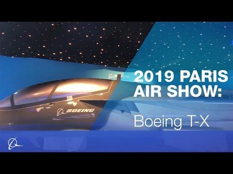 Boeing T-X at 2019 Paris Air Show