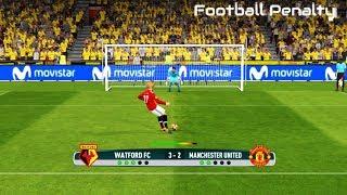Watford vs Manchester United | Penalty Shootout | PES 2017 Gameplay