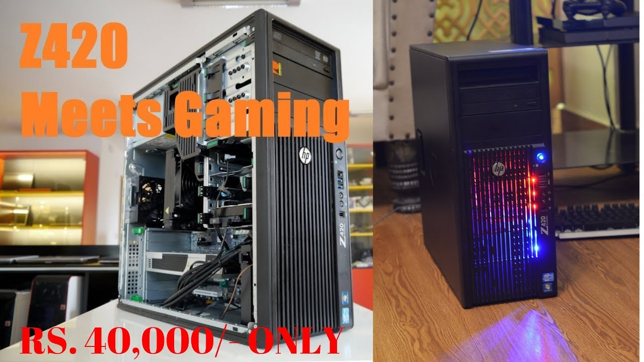 Mid Range Best Gaming PC 1080p High Gaming - 15 Games Benchmark Test Only  Rs 40000/-