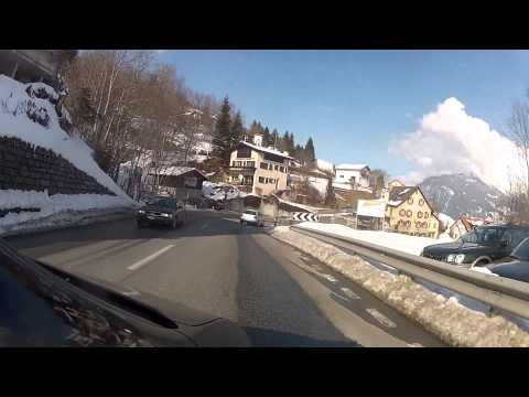 Lenzerheide, Switzerland to Chur - Driving Virtual Adventure!