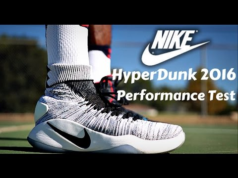 designer fashion 32d1b 3b4c6 Nike Hyperdunk 2016 Performance Test  (Flyknit vs Standard Version)