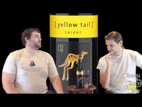 Yellow Tail Shiraz Australian Red Wine Review (Yenda, Australia)