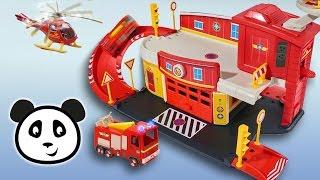 sam el bombero la estacin de emergencia demostracin y armado del juguete pandido tv