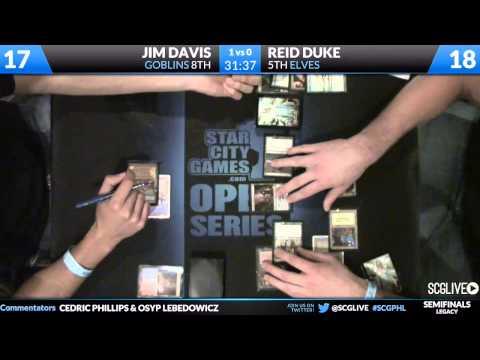 SCGPHL - Legacy - Semifinals - Reid Duke vs Jim Davis