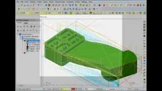 Mastercam X6 2DHST Dynamic Area Mill