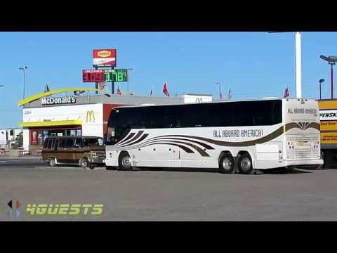 ALL ABOARD AMERICA TOURS BUS ~ AZ