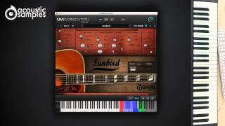 Sunbird Guitar library by Acousticsamples - Strumming