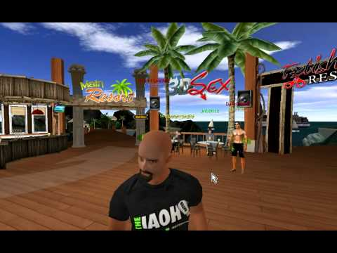 The IOAH Freatured in 3DSex.com's Virtual World MMO Game