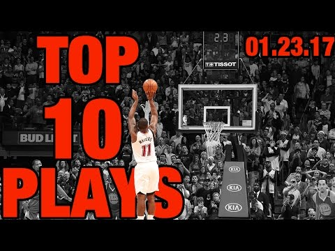 Veja o video – Top 10 NBA Plays of the Night | 01.23.17
