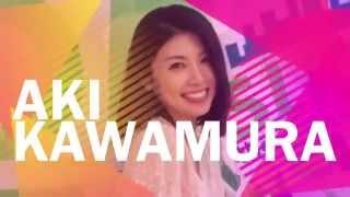 SLIDE THE CITY IN BEPPU WITH AKI KAWAMURA 川村亜紀 動画 8