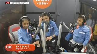 TNT BOYS @WISH BUS USA  Sings Their First Single✨TOGETHER WE FLY✨