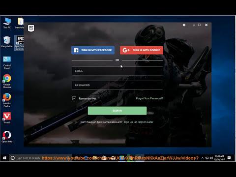 Uninstall Epic Games Launcher on Windows 10 Fall Creators Update
