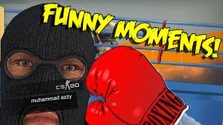 Cs Go Funny Moments - Pro Boxer , Most Epic Ace Never , Butt Plug Team Kill & More (funny Moments)