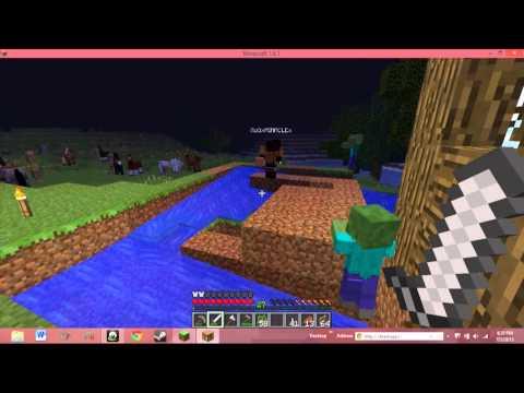 Minecraft Part 4: Moving Things.......UNDERGROUND!