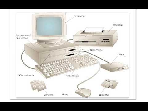 знакомство с компьютером презентация