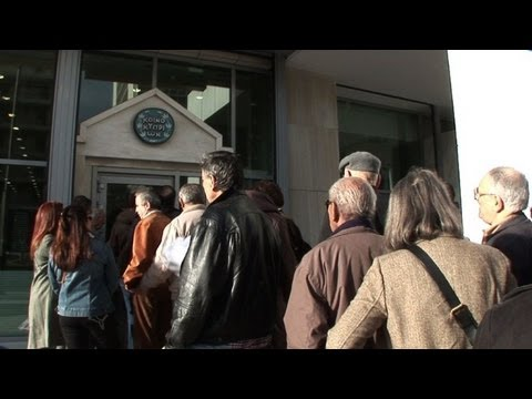 Cypriot bank branches in Greece reopen