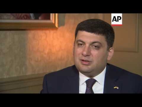 Ukraine new PM vows to uproot corruption
