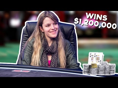Poker Goddess Destroys EVERYONE And WINS $1,200,000!