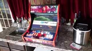 Bartop Arcade on RPI2 with EmulationStation and Kodi