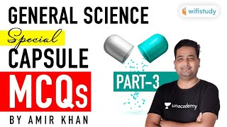 All Competitive Exams | General Science Capsule MCQs by Amir Khan (Part-3)