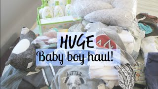 Huge Baby Boy Haul! | totallyblushing