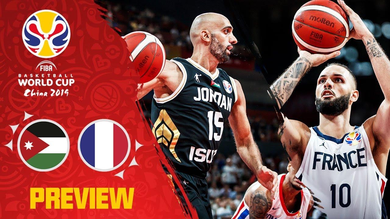chaussures de sport ea3c5 0f7ed Jordan v France Preview | Best plays of each team so far! | FIBA Basketball  World Cup 2019