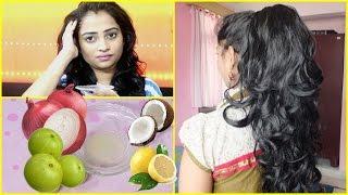 How to Stop Hair Fall / Stop Hair Loss Grow Long Hair - 3 Effective Tips to Control Hair Fall