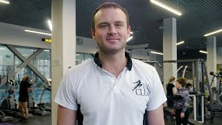 Березюк Борис — инструктор тренажерного зала