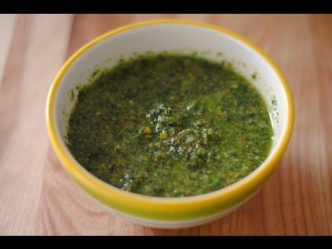 Receta Para Hacer Chimichurri - C�mo Hacer Un Chimichurri - Sweet y Salado