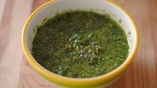 Receta Para Hacer Chimichurri - Cómo Hacer Un Chimichurri - Sweet y Salado