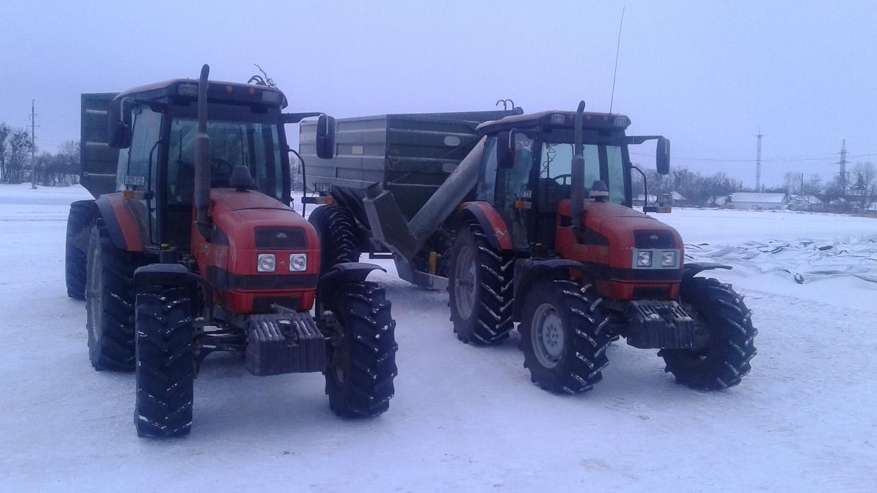 Трактор беларусь на вывозке леса по бездорожью /Tractor belarus .