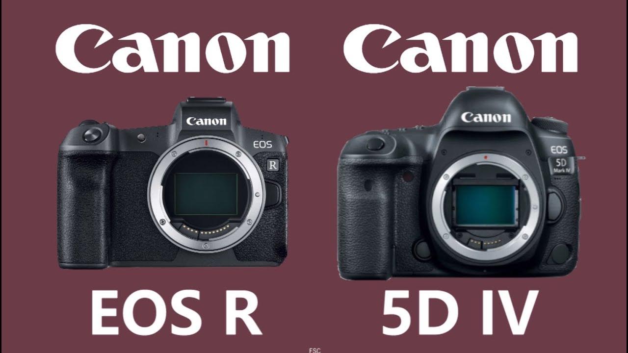Canon Eos R Vs Canon Eos 5d Mark Iv