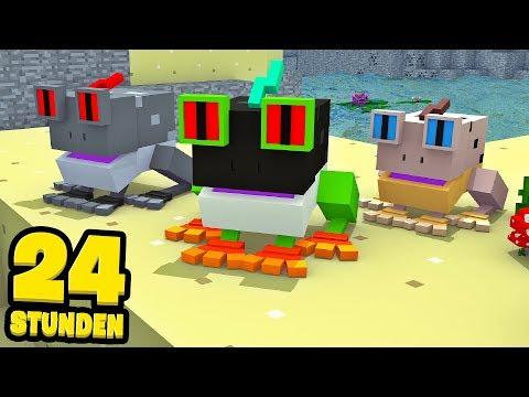 24 STUNDEN als FRÖSCHE VERSTECKEN?! - Minecraft [Deutsch/HD]