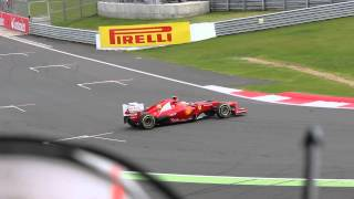 Fernando Alonso crashes... twice!