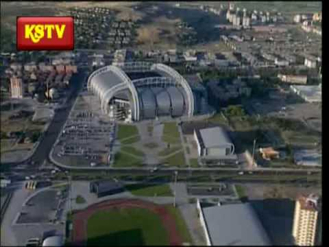 Kayseri Kadir Has Stadium aerial view