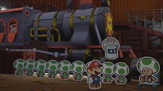 Toad Trainworks (Mini Star 1) - Paper Mario: Color Splash Walkthrough