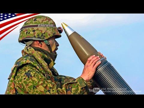 自衛隊・米軍の大口径「120mm重迫撃砲」発射演習 - US & Japanese Military 120mm Heavy Mortar Fire Exercise
