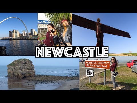 Newcastle, Sunderland, Cumbria, Northumberland VLOG | North Of England Attractions