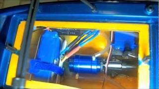 NQD JET BOAT BUILD VIDEO 2 INSTALL BRUSHLESS