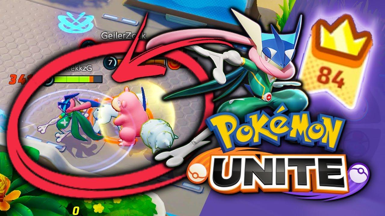 FLAWLESS VICTORY! MY GRENINJA is Unkillable in Pokemon Unite!